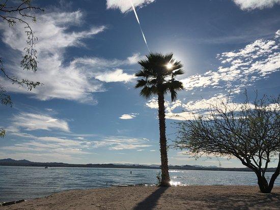 Lake Havasu State Park: Mid Afternoon - perfect sky