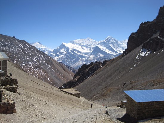 Ace the Himalaya - Private Day Tours: Arriving at High Camp before Thorung La