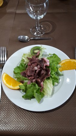 Les Deux Acacias : Salade de Gésiers magret