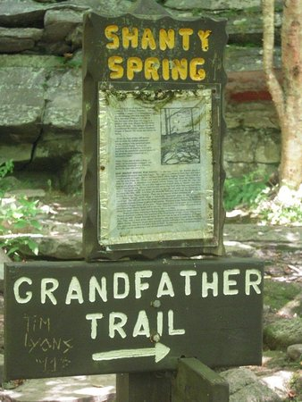 Grandfather Mountain: Profile Trail is my favorite! We made it to Shanty Spring...we snapped our pic of Grandfather Mt