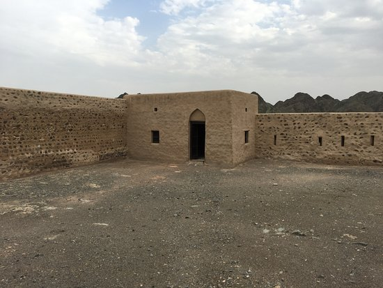 Fujairah, Verenigde Arabische Emiraten: the yard