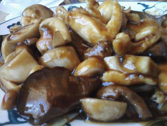 Saint Clair Shores, MI: Triple Mushroom entree