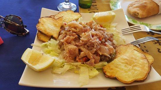 Empanadas Tia Berta: Ceviche de atún!! Riquísimo