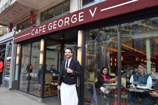 Photo of French Restaurant Cafe George V at 120 Avenue Des Champs Elysees, Paris 75008, France