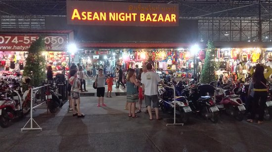 Hat yai asean night market