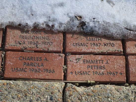 Angel Fire, NM: brick walk