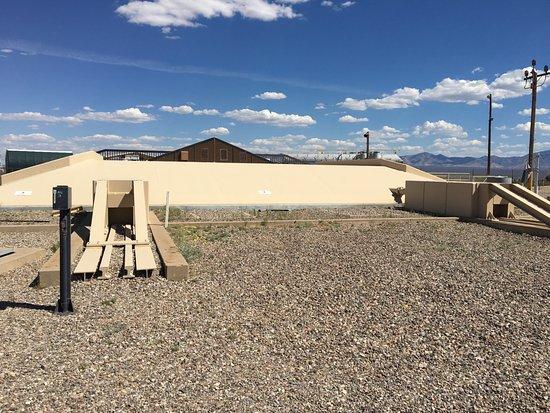 Sahuarita, AZ: Missle silo cover