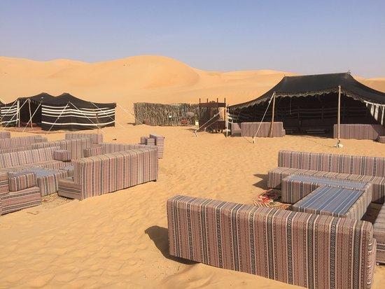 Bedouin style dinner Al Falaj at Qasr al sarab