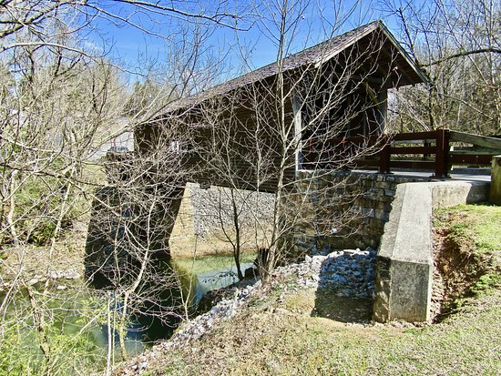 Harrisburg Covered Bridge: History