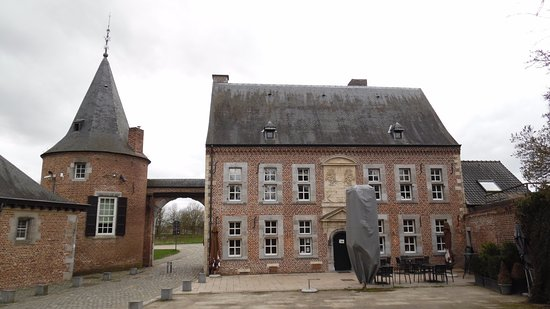 Bilzen, Belgique : Entrance to the complex