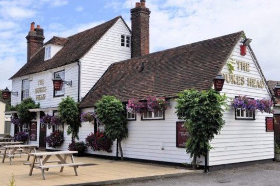Dunton Green, UK: pretty country pub
