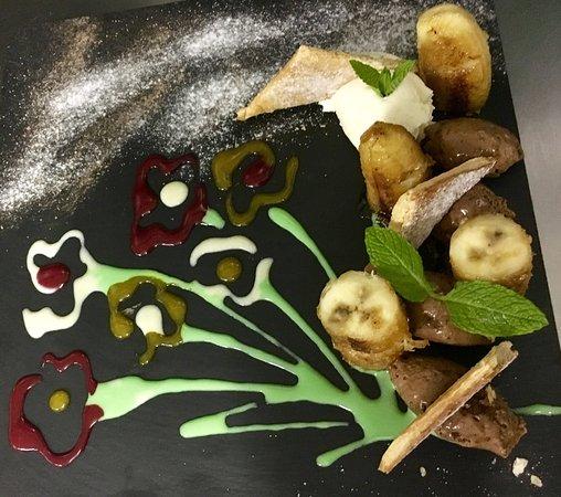 La Farlede, France: 1000 feuilles chocolat banane flambée au rhum vieux