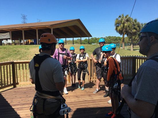 Oldsmar, FL: Dan ,our guide, giving careful instruction in a FUN way.