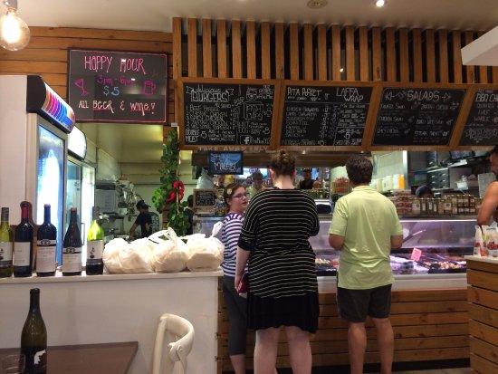 Rose Bay, Australia: Pita Mix counter