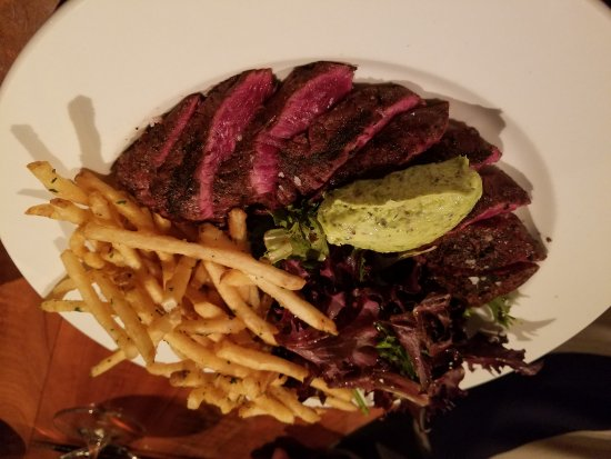 El Prado, NM: Hanger steak