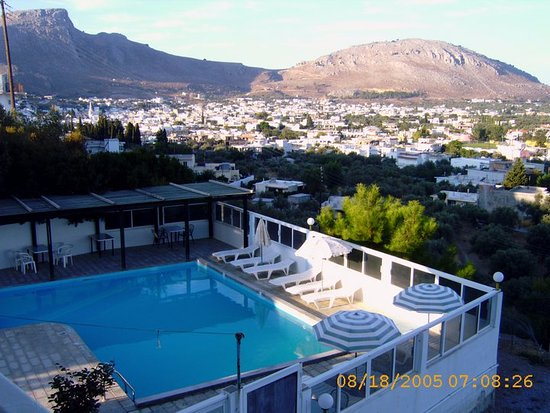 Archangelos, Grecia: View from the hotel Anagros