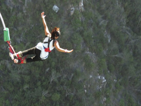 Tsitsikamma National Park, South Africa: My jump