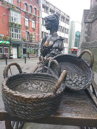 Photo of Monument / Landmark Molly Malone Statue at In Front Of The Saint Andrew's Church Tourist Office, Dublin 2, Ireland