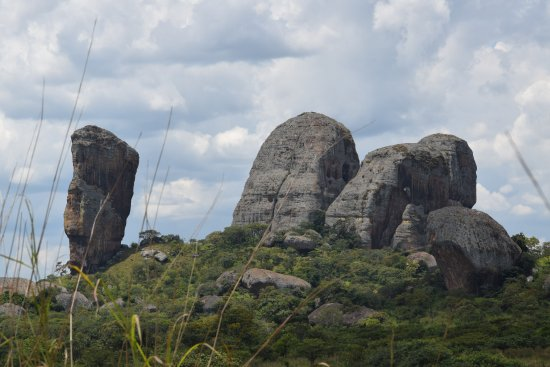 Malanje, Ангола: Eu vi um camelo