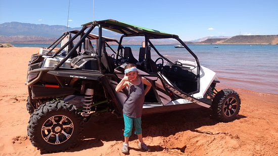 Washington, Utah: One of the cutest clients giving us the thumbs up for a good time!