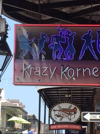 Photo of Nightclub The Krazy Korner at 640 Bourbon St, New Orleans, LA 70130, United States