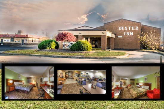 Dexter, MO: Indoor property with meeting room, King, Full size beds, continental breakfast with waffles.
