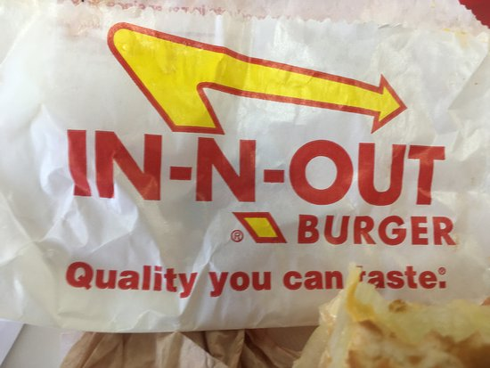 Wrapper - Picture of In-N-Out Burger, Las Vegas - TripAdvisor