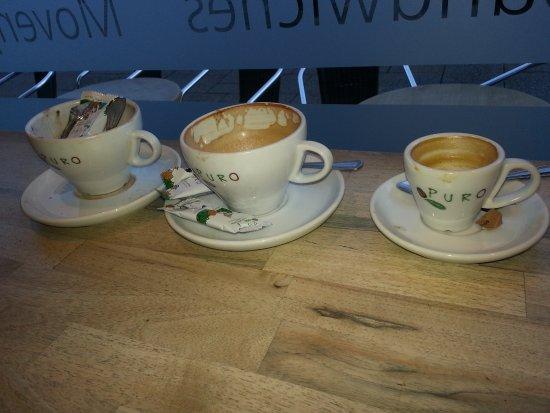 Berkhamsted, UK: coffee and hot chocolate