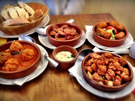 Ole Ole Tapas Bar & Restaurant : Lunch Special