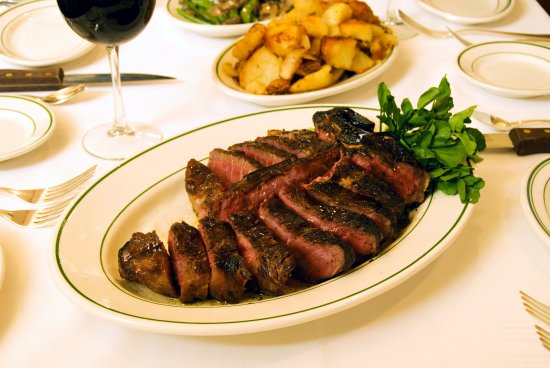 Roslyn, NY: Our porterhouse steak is perfect for sharing