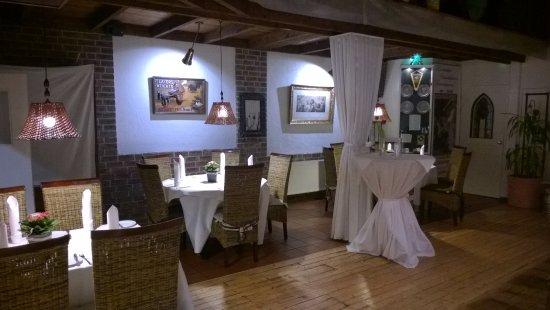 Bocholt, Tyskland: sala ristorante