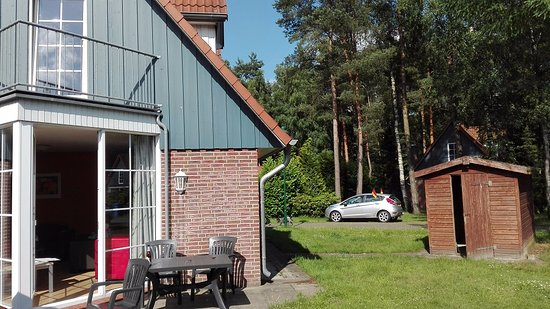 Molbergen, Germany: Our house, patio, shed and outdoor area (2)