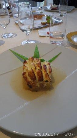 Condrieu, France: dessert