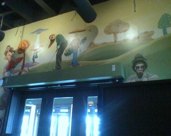 Dublin, OH: Wall in dining room