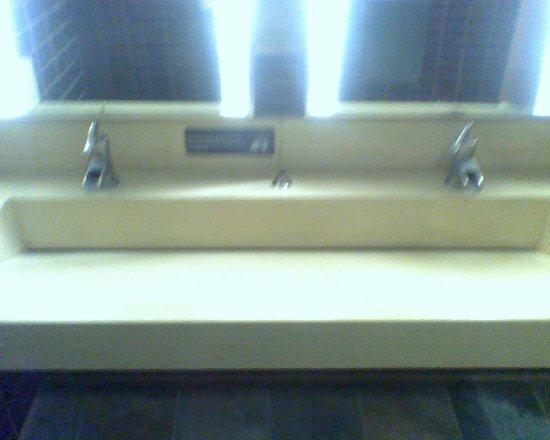 Dublin, OH: Cool sink in men's room