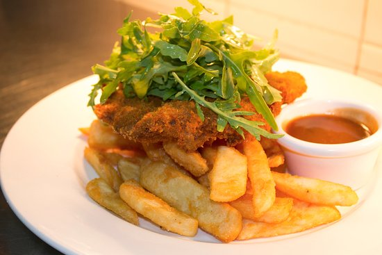 Ashmore, Australien: Crumbed Steak