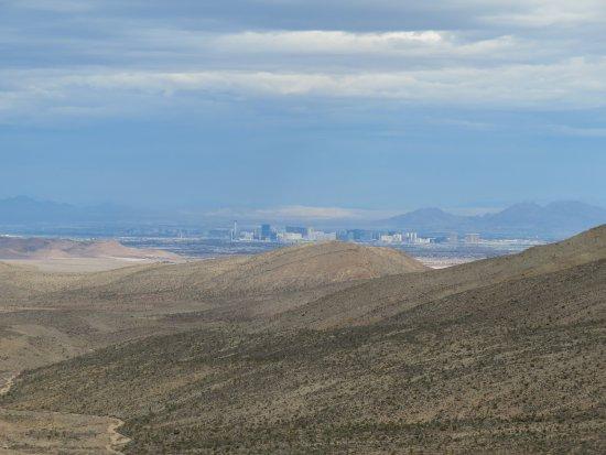 Spring Mountains National Recreational Area: View of Las Vegas