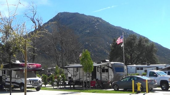 Pala, CA: view from our motorhome