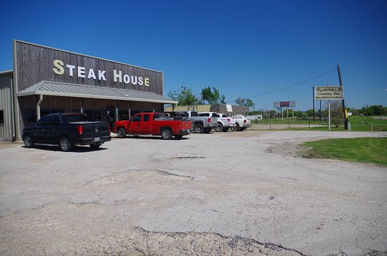 Somerville, TX: Sokolak's Steak House in Snook, TX