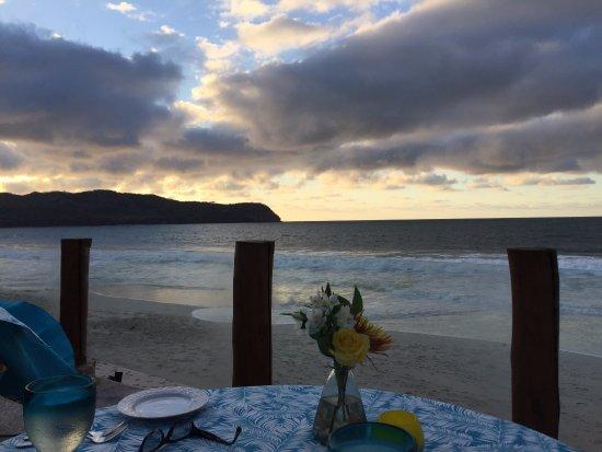 Casa De Mita : Dinner at sunset.