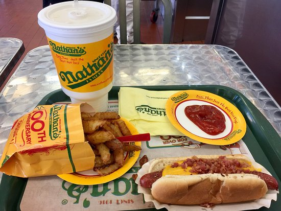 Photo of Fast Food Restaurant Nathan's Famous at 1310 Surf Ave, Brooklyn, NY 11224, United States