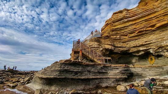 Sunset cliffs tide pools and coronado islands in ocean for Tides for fishing san diego