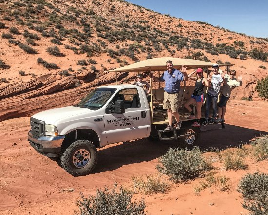 Horseshoe Bend Slot Canyon Tours