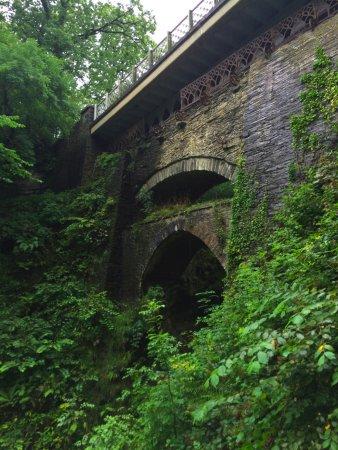 Aberystwyth, UK: The three bridges