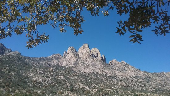 Aguirre Spring National Recreation Area: View of the Rabbit Ears