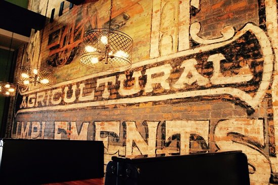 Middlebury, IN: Our historic 1880s mural uncovered, touched up & sealed