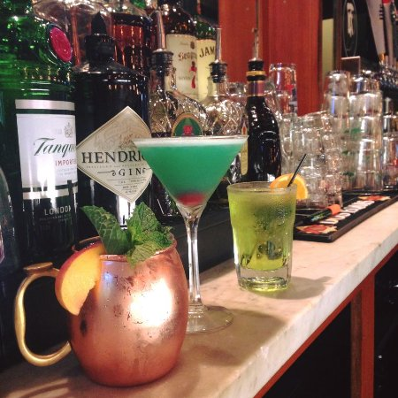 Middlebury, IN: We have plenty of cocktail options to choose from, the bartop is the best place to sit!