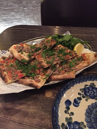 Photo of Mediterranean Restaurant Babaji Istanbul Pide at 53 Shaftesbury Avenue, London W1D 6LB, United Kingdom