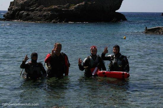Plakias, Grecja: Let's dive!