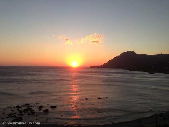 Plakias, Grecja: Sunset